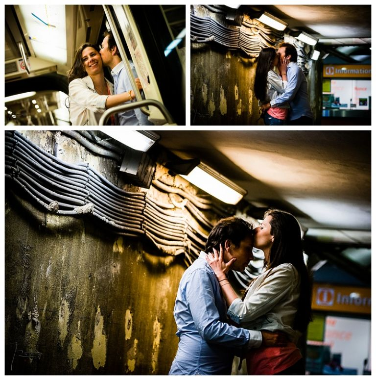 Photographe mariage Juif Paris - Séance engagement Paris - Dans le quartier quartier Juif Paris, le Marais.