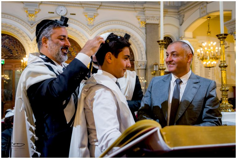Photographe Bar Mitzvah Synagogue Buffault Paris