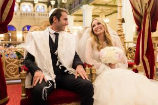 Photographe mariage Juif Synagogue Tournelles Paris