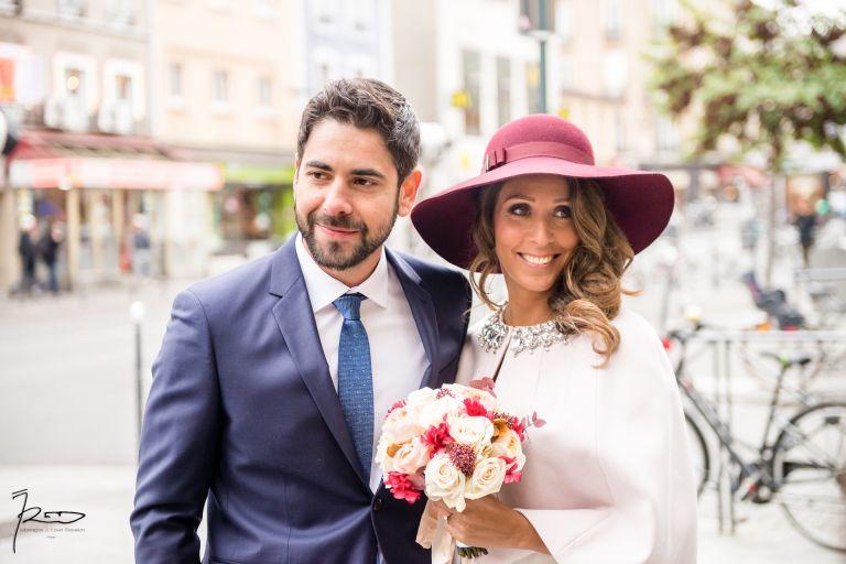 Photographe de mariage Juif Manoir des cygnes - Mariage civil Juif Mairie de Pantin
