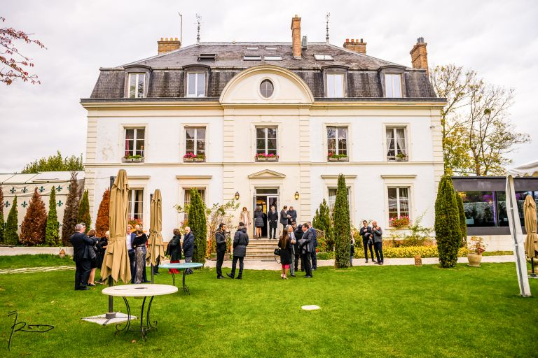 Photographe de Mariage Juif - Le Manoir des Cygnes - Le Coudray Montceau 91 Houpa dans le Jardin