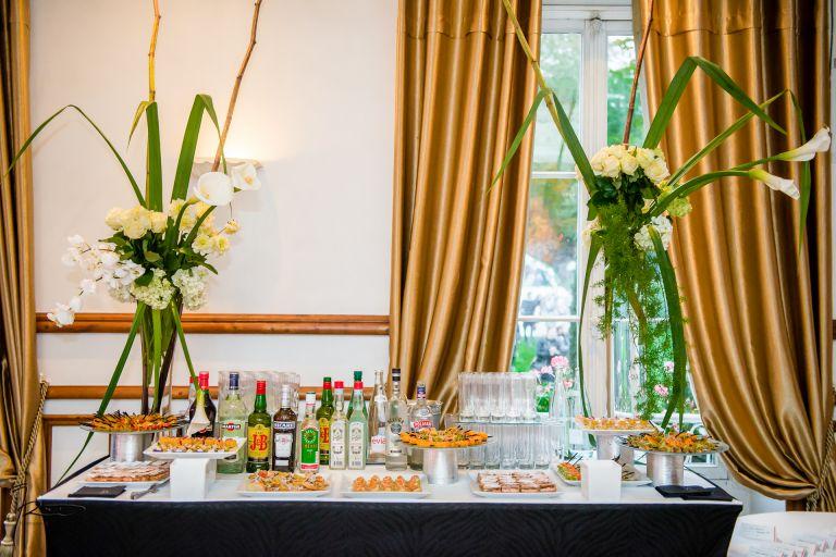 Photographe mariage Juif Le manoir des Cygnes, le Coudray Montceau 91 Cocktail en intérieur