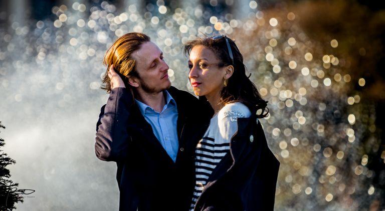 Séance engagement à Paris au Trocadero - Love Session à Paris